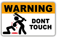 PM sticker-dont-touch-warning-ne-touche-pas-the-little-boutique